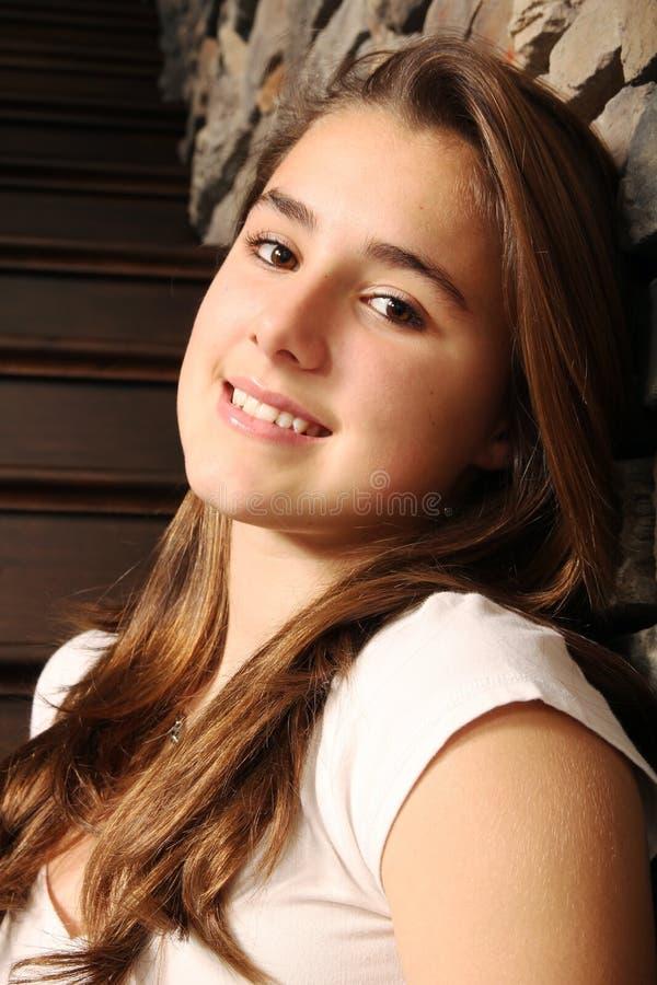 Portret van een tiener royalty-vrije stock foto's