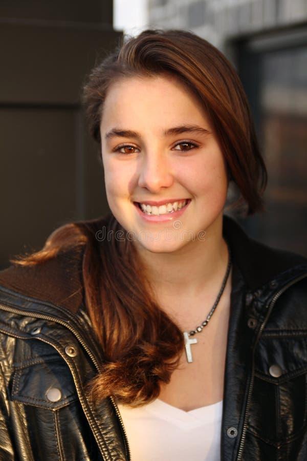 Portret van een tiener royalty-vrije stock fotografie