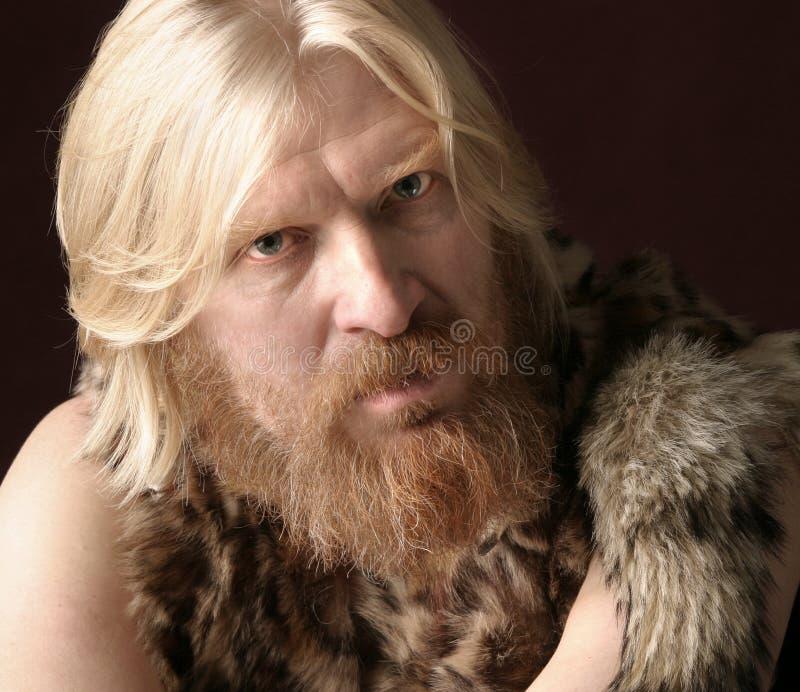 Portret van een volwassen mannetje royalty-vrije stock foto's