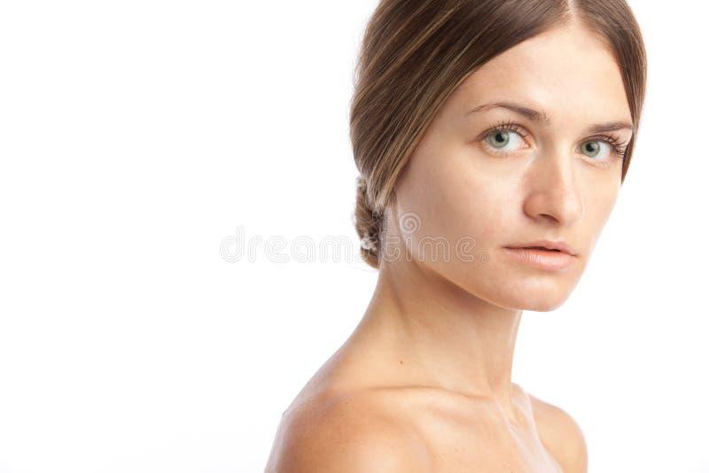Portret van een vrouw stock afbeeldingen