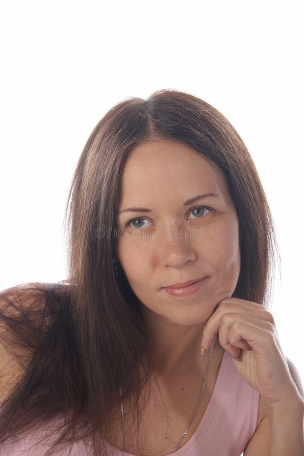 Portret van een vrouw royalty-vrije stock foto's