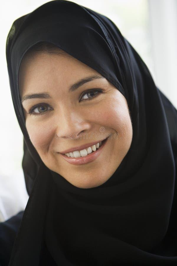 Portret van een vrouw van het Middenoosten royalty-vrije stock foto
