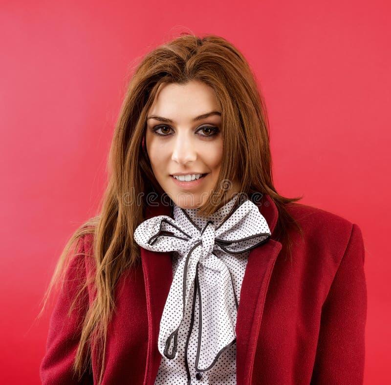 Portret van een vrouwelijke mannequin stock afbeelding