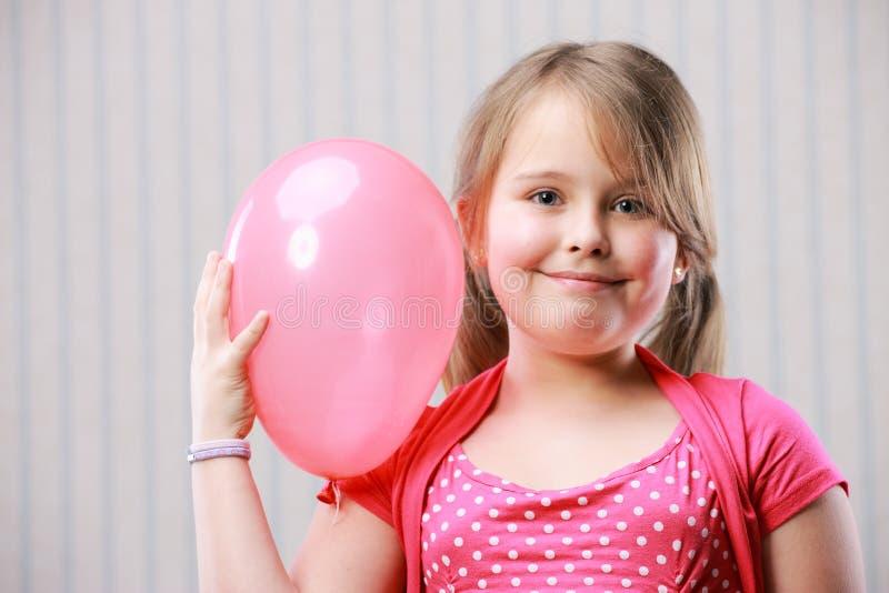 Portret van een weinig mooi meisje stock afbeeldingen