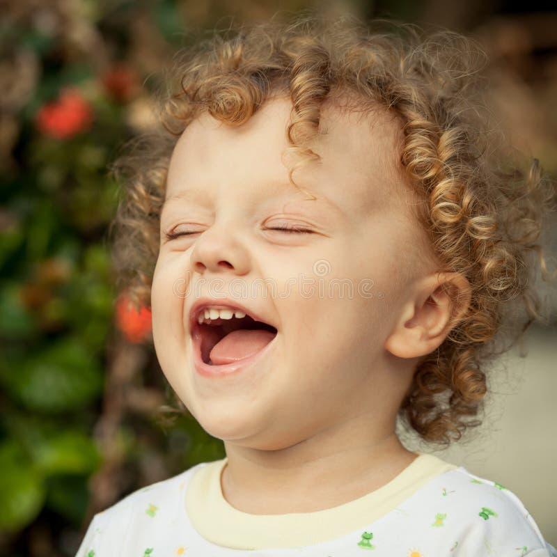 Portret van gelukkig kind royalty-vrije stock foto