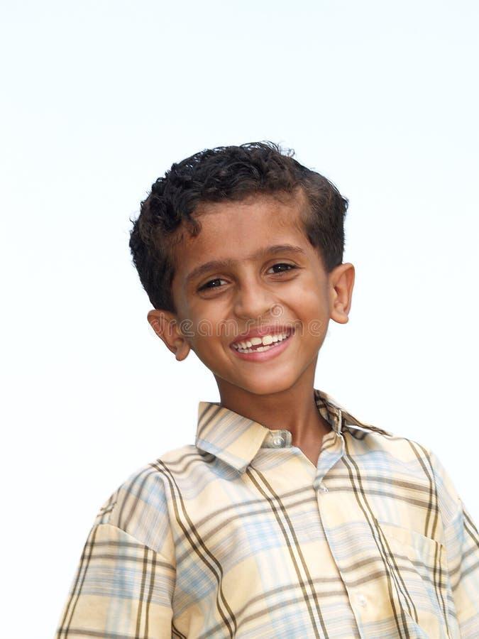 Portret van gelukkige Aziatische jongen royalty-vrije stock fotografie