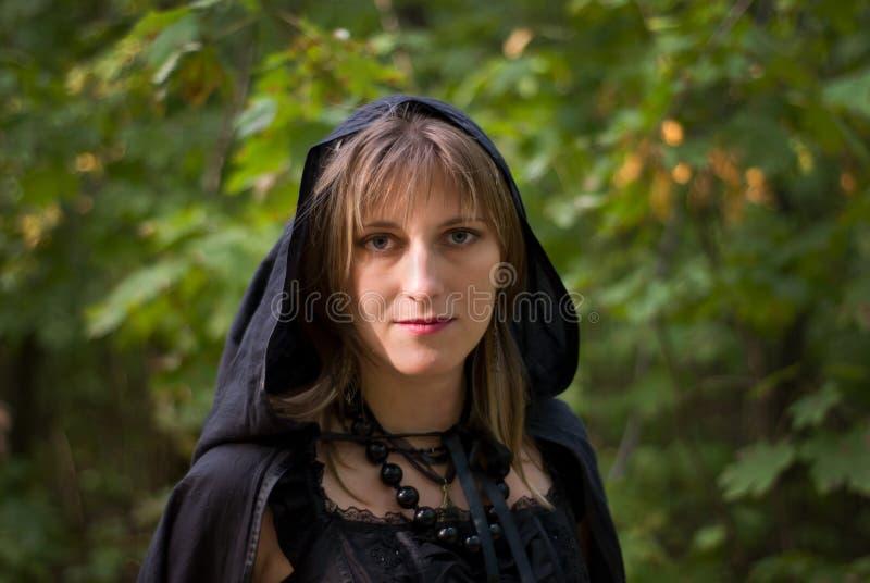 Portret van heks royalty-vrije stock foto