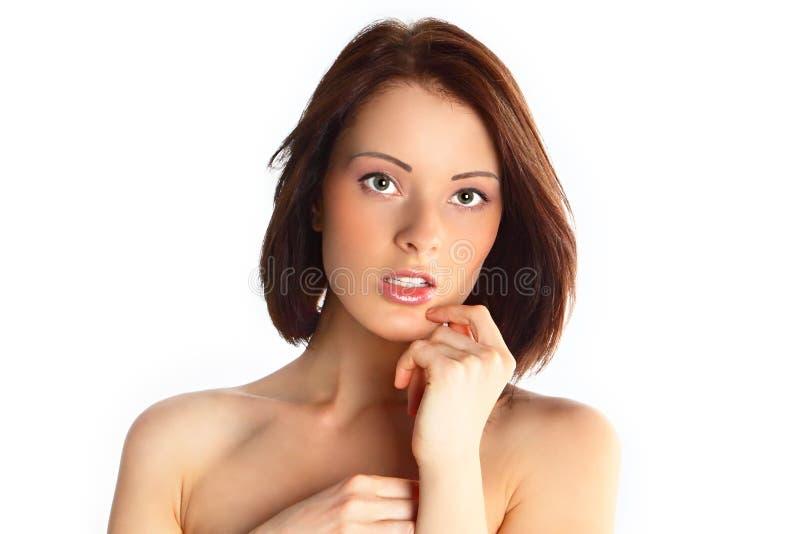 Portret van het jonge meisje stock foto's