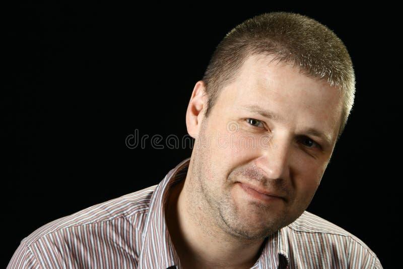 Portret van het mannetje royalty-vrije stock afbeelding