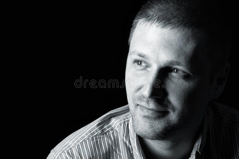 Portret van het mannetje stock foto