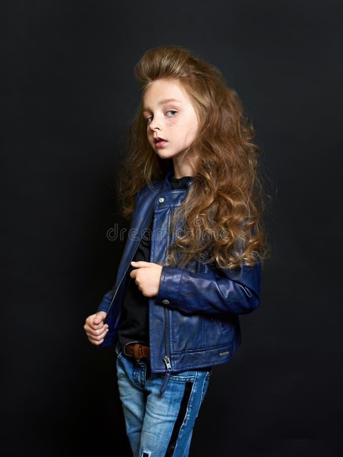 Portret van het mooie kind royalty-vrije stock fotografie