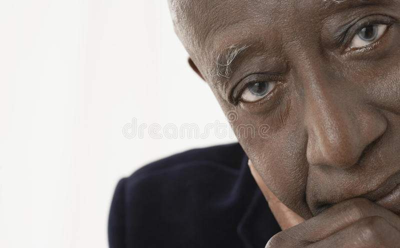 Portret van Hogere Zakenman royalty-vrije stock fotografie