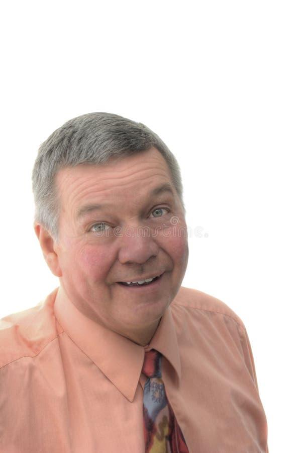 Portret van Hogere Zakenman stock fotografie
