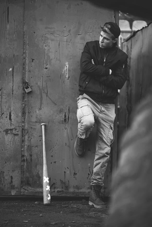 Portret van Hooligan stock afbeeldingen