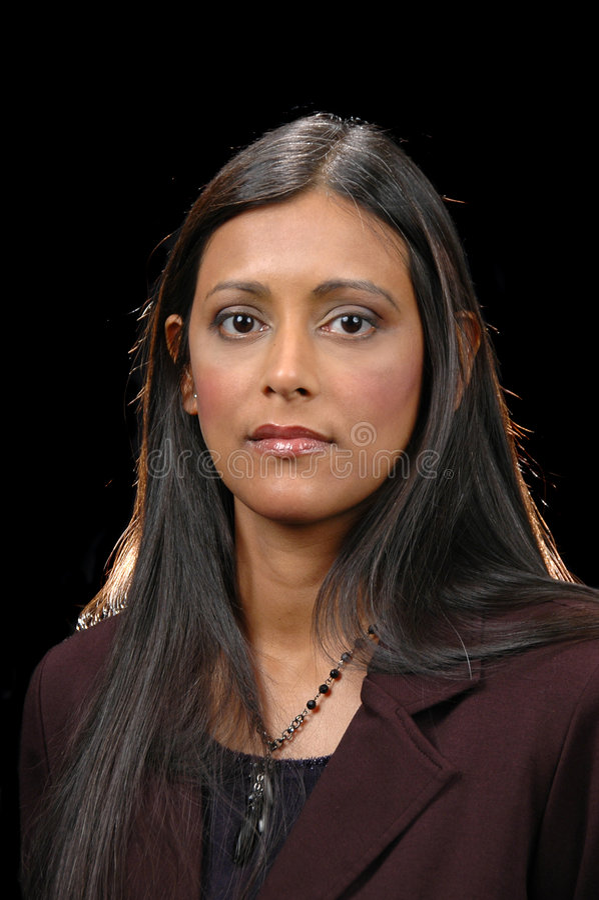 Portret van Indisch meisje royalty-vrije stock afbeeldingen