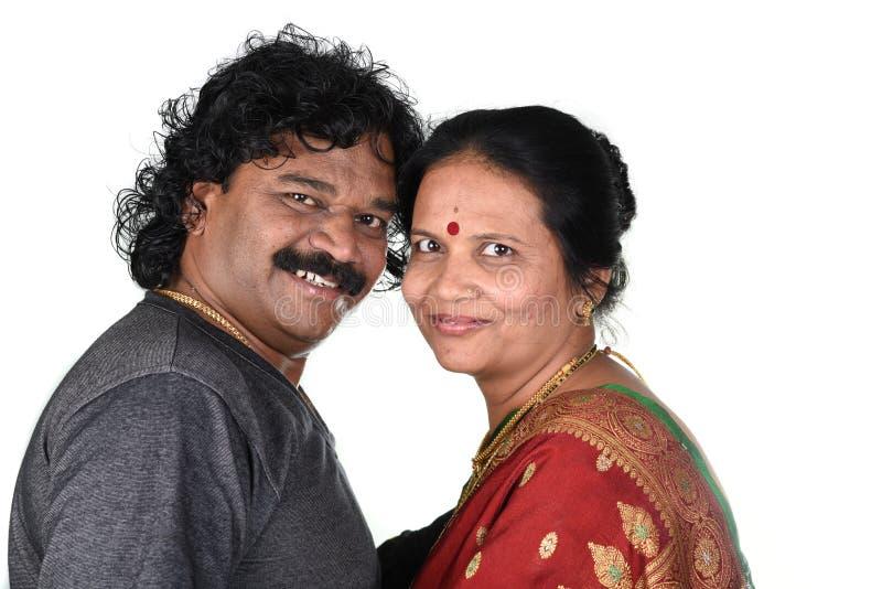 Portret van Indisch Paar stock fotografie