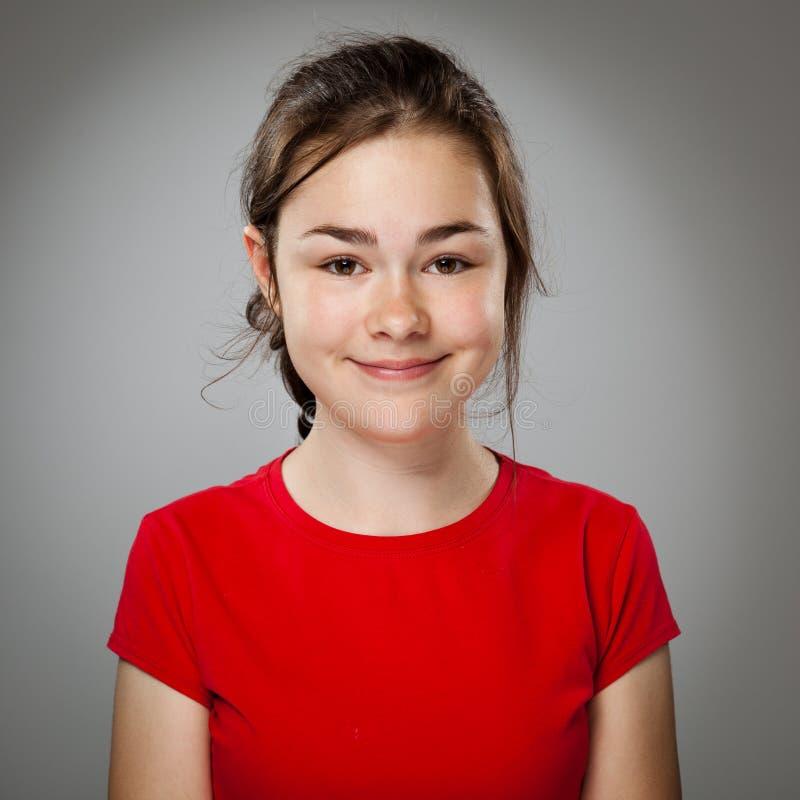 Portret van jong meisje royalty-vrije stock afbeelding