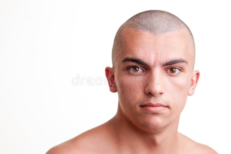 Portret van jonge Kaukasische tiener royalty-vrije stock foto's
