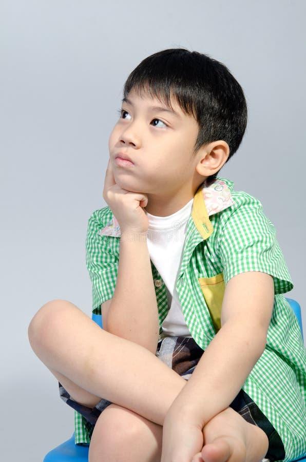 Portret van jonge leuke jongen stock fotografie