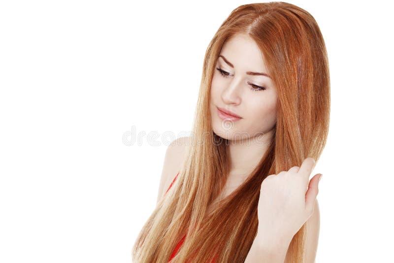 Download Portret Van Jonge Mooie Vrouw Stock Foto - Afbeelding bestaande uit sexy, gezondheid: 54077816