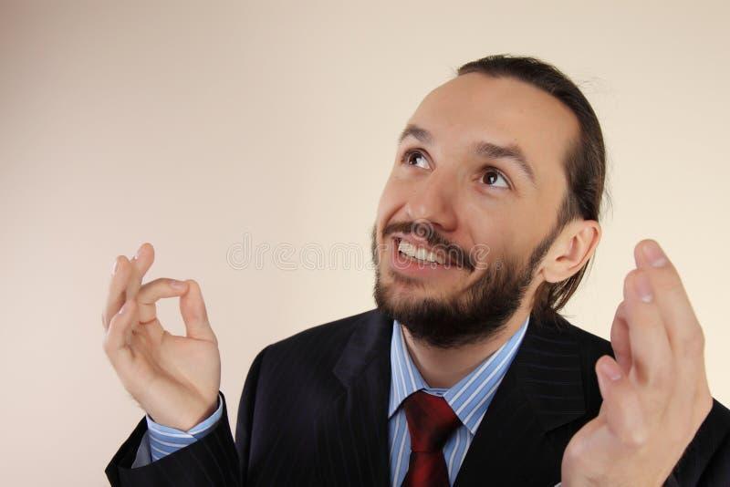 Portret van jonge succesvolle zakenlieden royalty-vrije stock foto