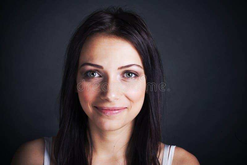 Portret van jonge vrouw stock foto