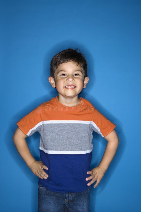 Portret van jongen. royalty-vrije stock afbeelding