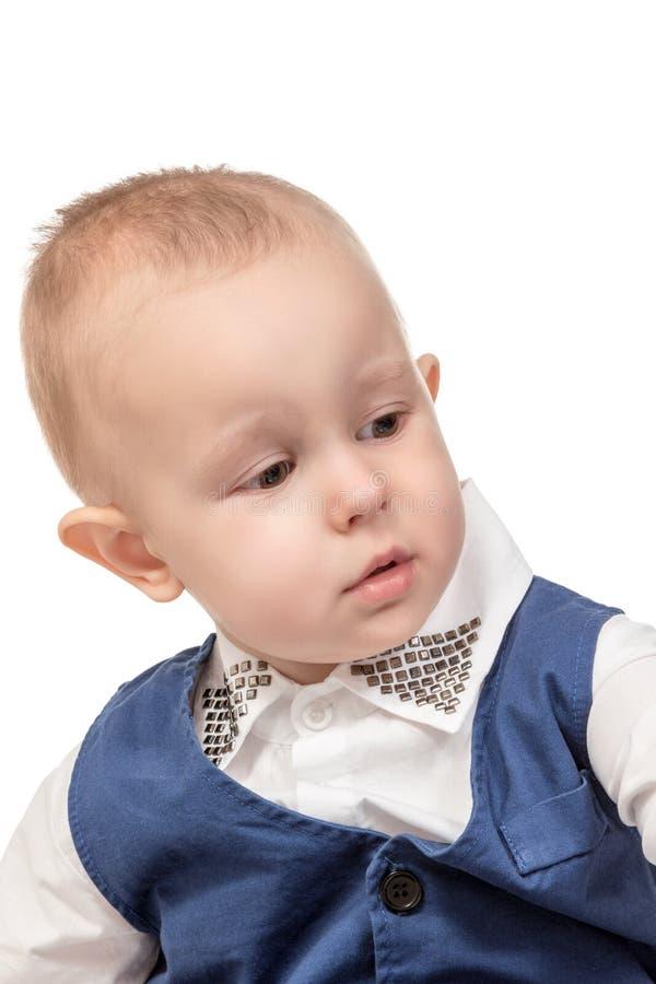 Portret van jongens dichte omhooggaand royalty-vrije stock fotografie