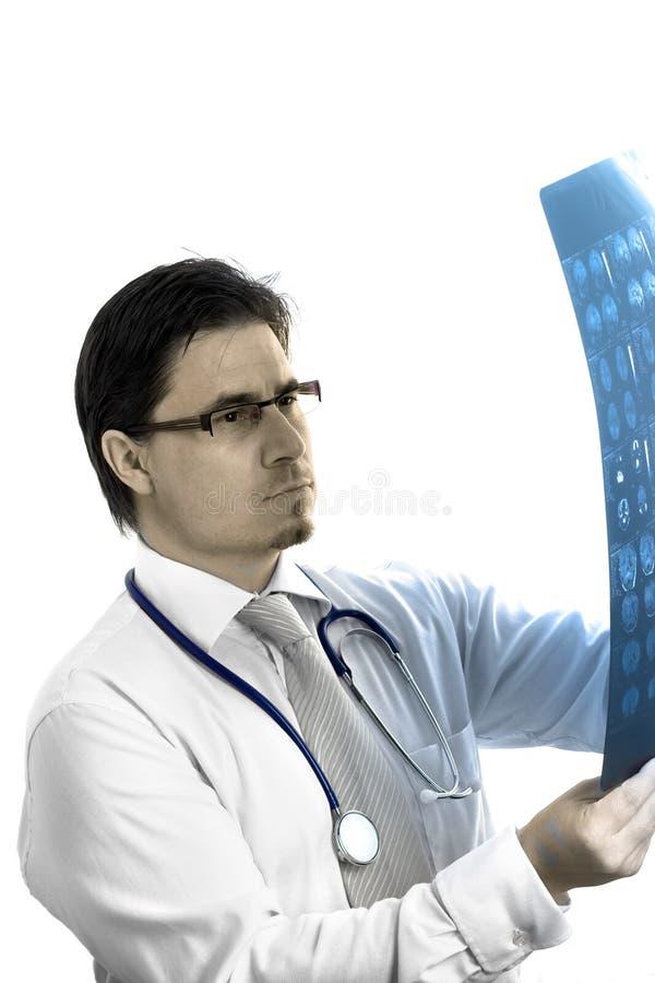 Portret van medische arts royalty-vrije stock afbeeldingen