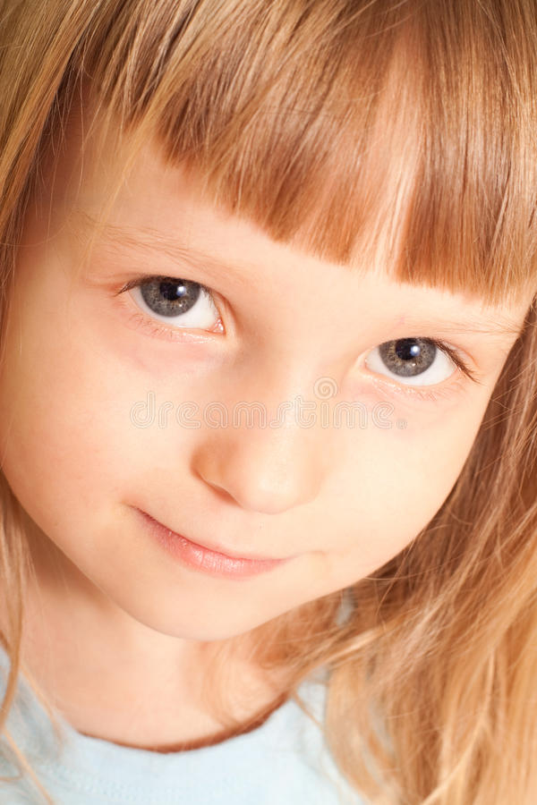 Portret van meisje royalty-vrije stock foto's