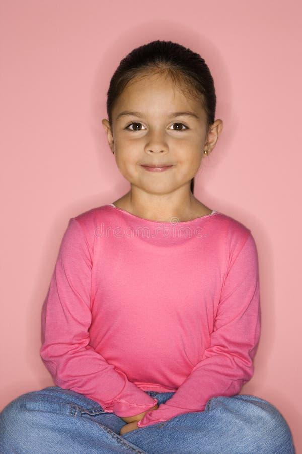 Portret van meisje. stock fotografie