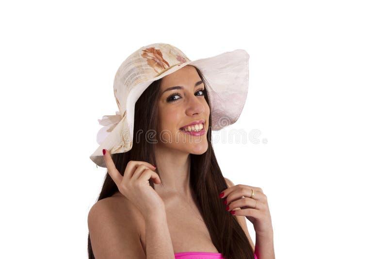 Download Portret Van Meisje In Bikini Stock Afbeelding - Afbeelding bestaande uit erotisch, schoonheid: 54087747