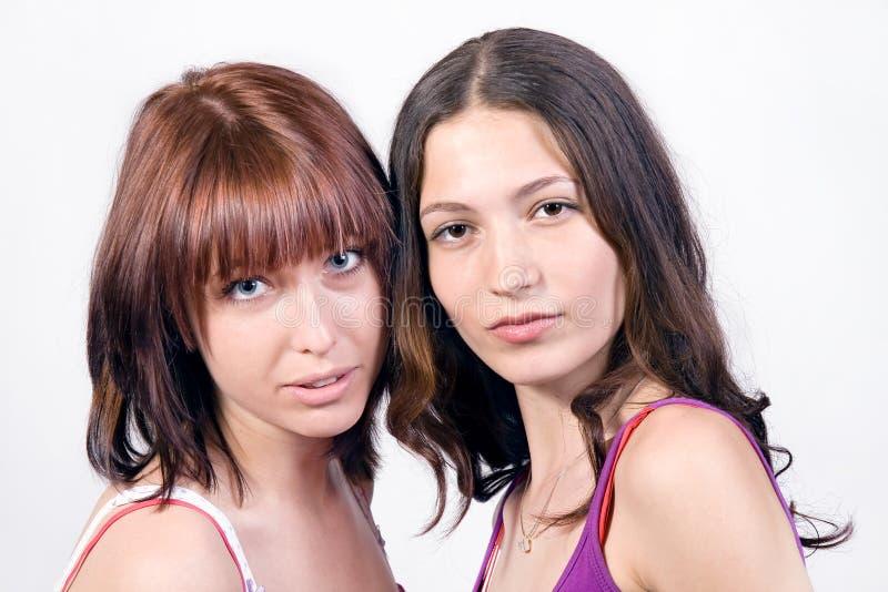 Portret van meisjes stock foto's