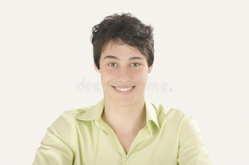 Download Portret Van Mens Het Glimlachen Stock Foto - Afbeelding bestaande uit lach, vrolijk: 54078190
