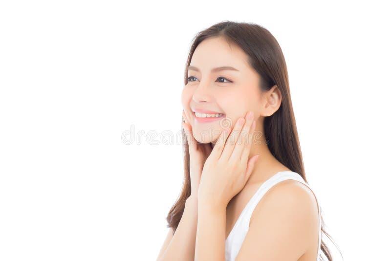 Download Portret Van Mooie Aziatische Vrouwenmake-up Van Schoonheidsmiddel Stock Afbeelding - Afbeelding bestaande uit gezicht, hand: 107704547