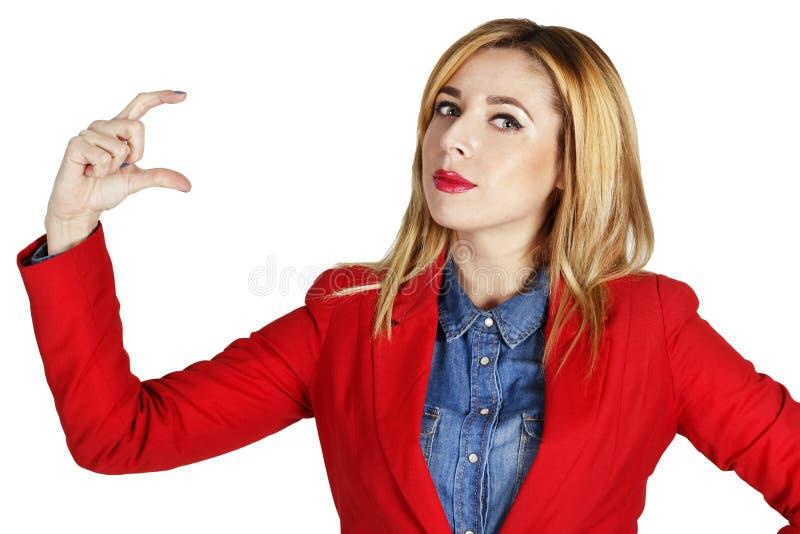 Download Portret Van Mooie Bedrijfsvrouw Stock Afbeelding - Afbeelding bestaande uit zaken, gelukkig: 54079131