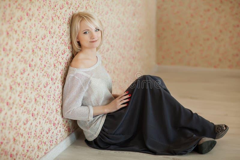 Portret van Mooie Vrouw royalty-vrije stock fotografie