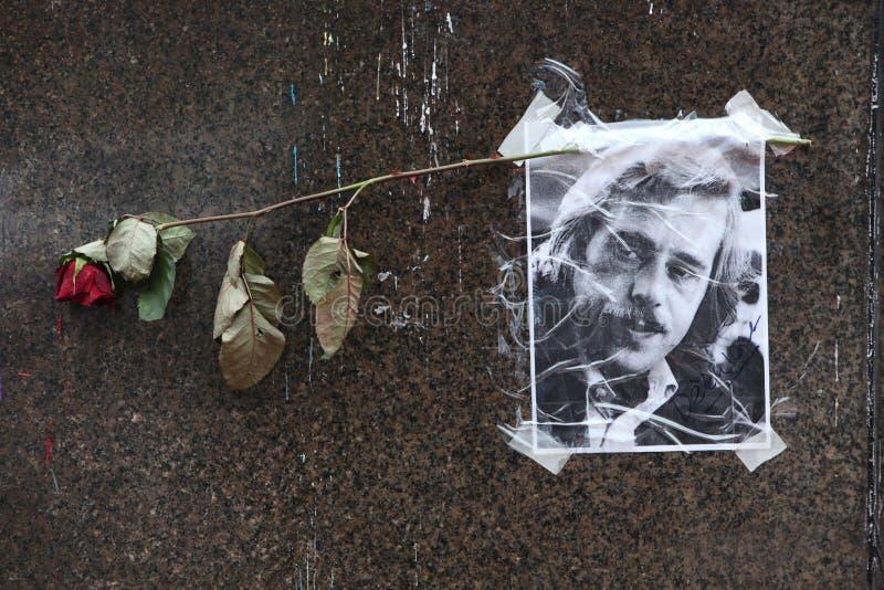 Portret van recente Tsjechische voorzitter Vaclav Havel royalty-vrije stock afbeelding