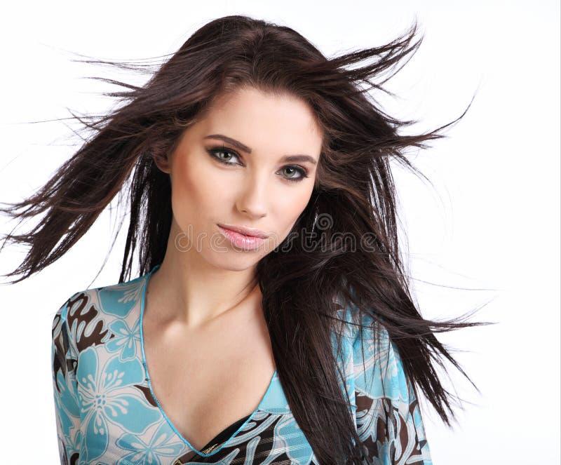 Portret van sexy meisje stock foto's