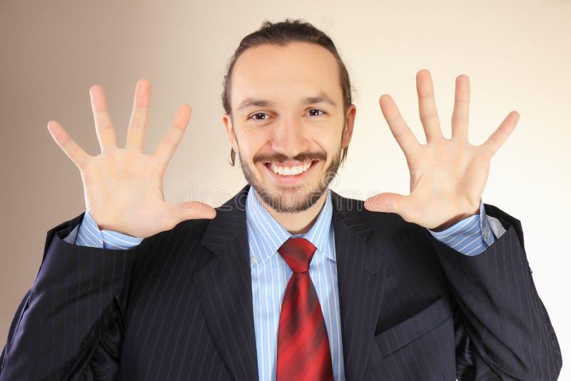 Portret van succesvolle jongelui stock afbeelding