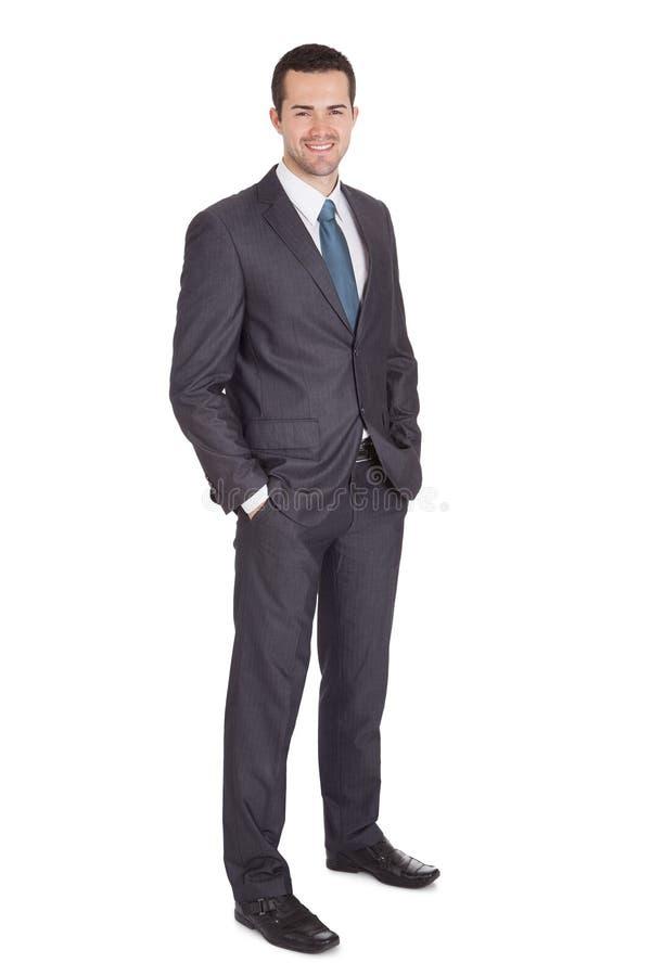 Portret van succesvolle zakenman royalty-vrije stock foto