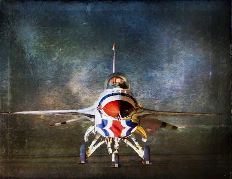 Portret van Thunderbird royalty-vrije stock afbeelding