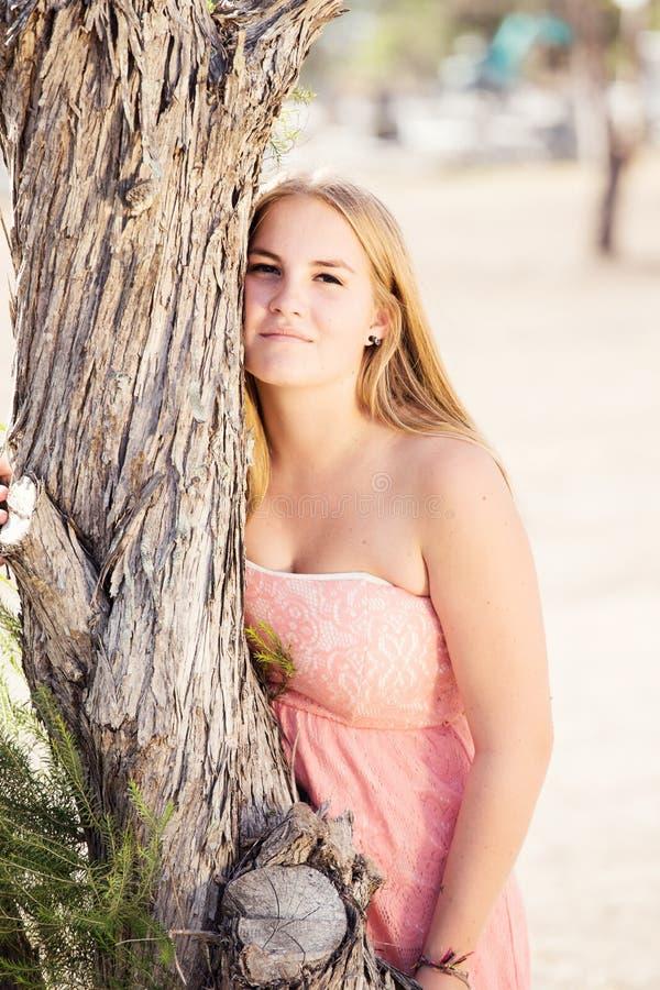 Portret van tiener royalty-vrije stock foto