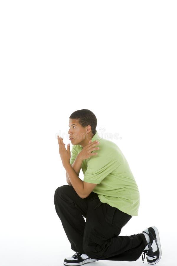 Portret van Tiener stock foto's