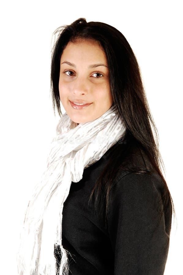 Portret van tienermeisje. royalty-vrije stock afbeelding