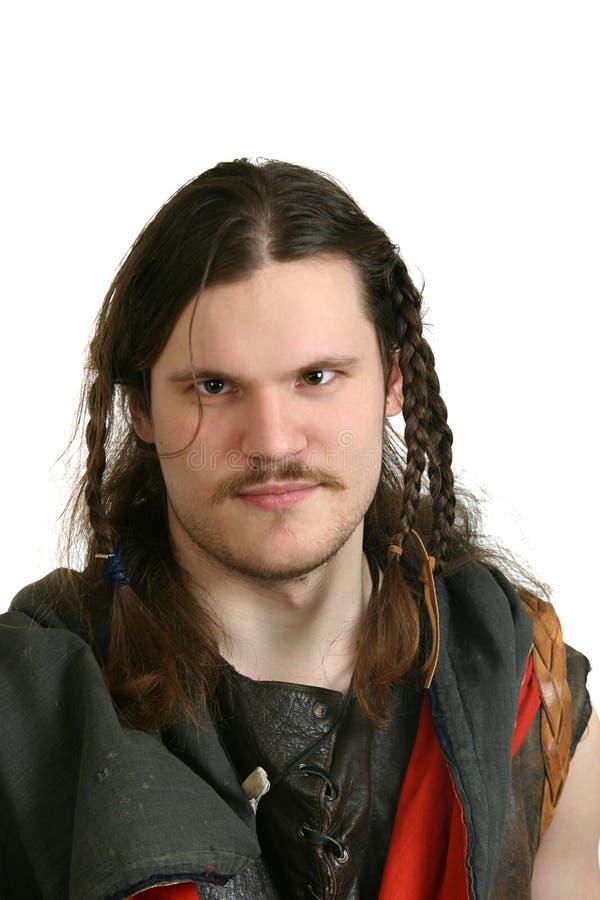 Portret van Viking royalty-vrije stock afbeeldingen