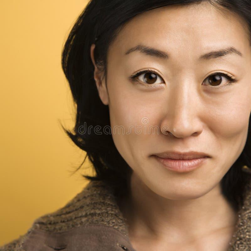 Portret van vrouw. royalty-vrije stock foto
