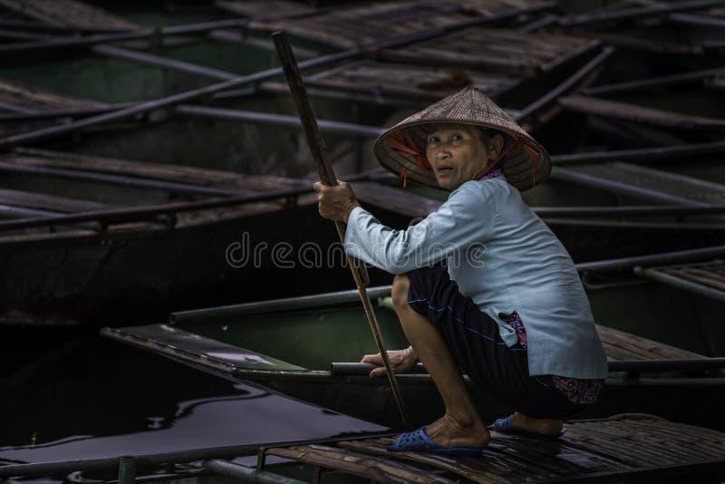 Portret Vietnam stock foto's
