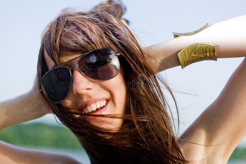 portret włosów styl zdjęcie royalty free