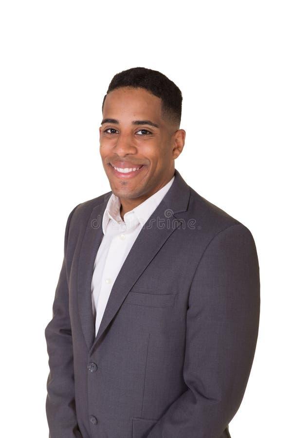 Portret well ubierał mężczyzna w kostiumu zdjęcia stock